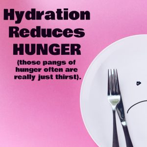 diet tips stay hydrated