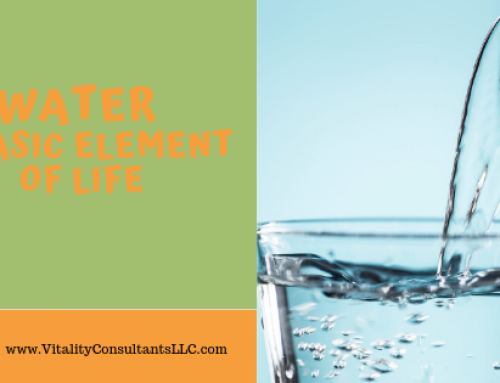 Water is a Basic Element of Life