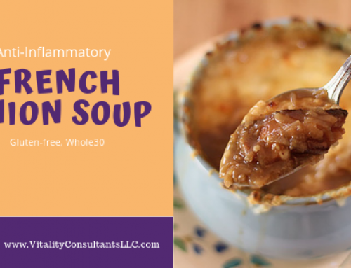 Famous Barr's (Anti-inflammatory) French Onion Soup